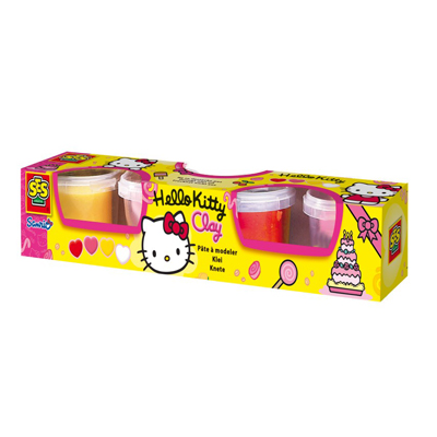 Plastelina Hello Kitty 4 kolory