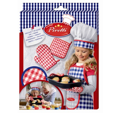 Zestaw kucharza - Rękawica i ściereczka ochronna do pieczenia