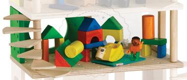 Pokój dziecięcy - zabawki drewniane