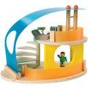 Drewniany domek letniskowy - zabawki drewniane