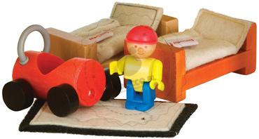 Mebelki i zabawki do pokoju dziecięcego - zabawki drewniane