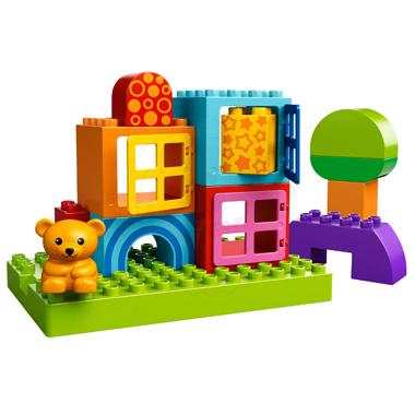 Klocki LEGO  DUPLO LEGO Ville 10553 - Kreatywny domek dla maluszka