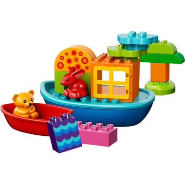 Klocki LEGO DUPLO LEGO Creative Play 10567 - Łódka dla maluszka
