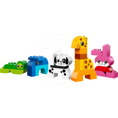 Klocki LEGO DUPLO LEGO Creaive Play 10573 - Kreatywne zwierzątka