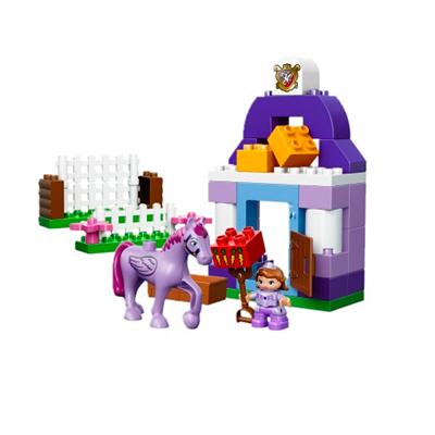 Klocki LEGO Duplo Disney Sofia the first 10594 - Królewska stajnia