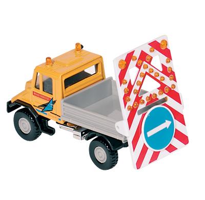 Samochód robót drogowych - zabawki dla chłopców