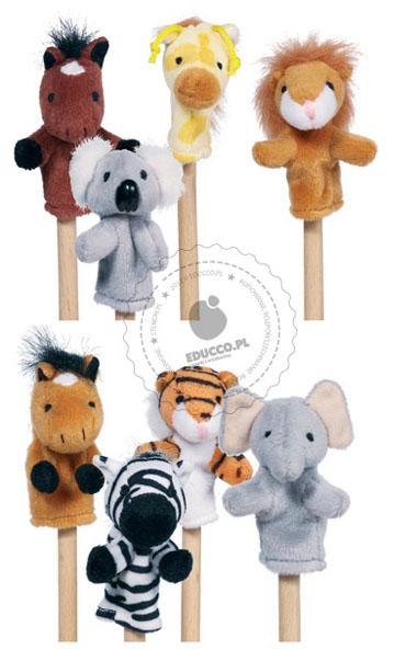 Paluszkowce - pacynki na paluszki - zabawki pluszowe