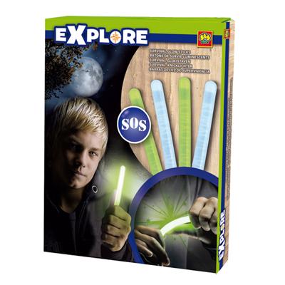 Świecące pałeczki dla małego podróżnika - explore