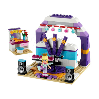 Klocki LEGO 41004 - Scena prób
