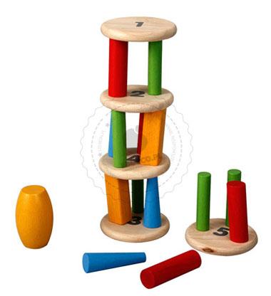 Wieża równoważnia, Plan Toys - gry dla dzieci