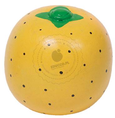 Pomarańcza - zabawka drewniana