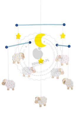 Owieczki  - zabawki drewniane