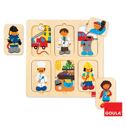 Puzzle - Zawody - zabawki edukacyjne
