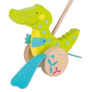 Krokodylek Susibelle - zabawka do pchania