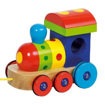 Lokomotywka - zabawki do ciągnięcia