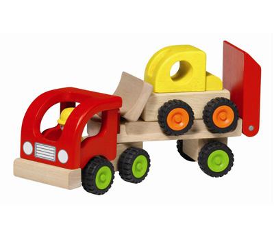 Pojazd laweta – Zabawki drewniane