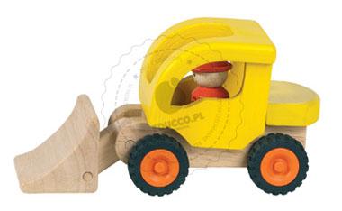 Spychacz - zabawki drewniane