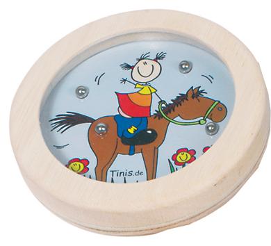 Gra wpasowanie kulek konik - zabawki drewniane