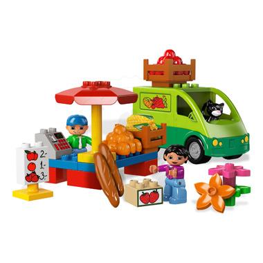 Klocki LEGO 5683 DUPLO Ville - Warzywniak