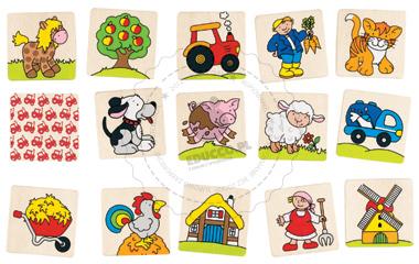 Memo - Farma - zabawki drewniane
