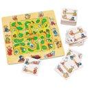 Gra Spotkanie zwierzątek - zabawki drewniane