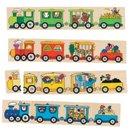 Memo - Pociąg - zabawki drewniane