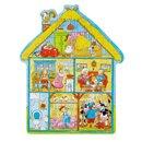 Puzzle drewniane - Puzzle domek na farmie