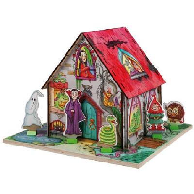 Puzzle 3D - Nawiedzony Dom - zabawki edukacyjne