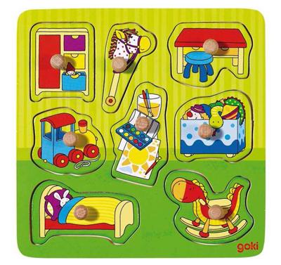 Puzzle dla najmłodszych - Dziecięcy pokoik