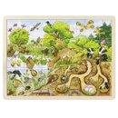 Puzzle drewniane - Odkryj przyrodę