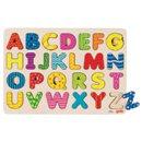 Puzzle - Kolorowy alfabet - zabawki drewniane
