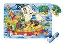 Puzzle – Okręt piracki – Zabawki drewniane