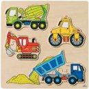 Puzzle Maszyny zabawki drewniane