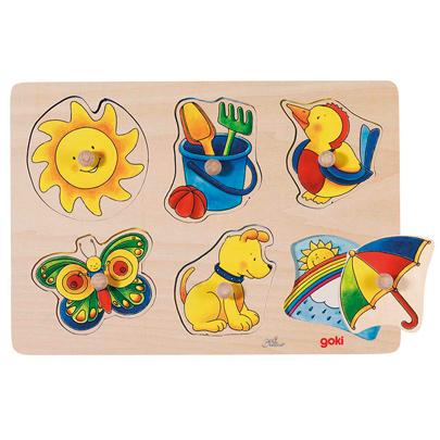 Puzzle dla najmłodszych - Ukryte obrazki