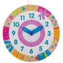 Kolorowy zegar do nauki godzin Susibelle - zabawka edukacyjna