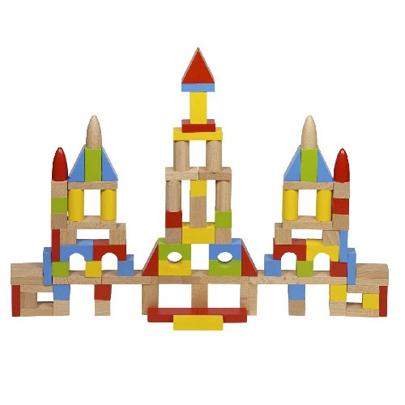 Klocki w woreczku XL - zabawki drewniane