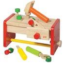 Skrzynka z narzędziami - zabawki drewniane