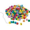 Literki do nawlekania - zabawki edukacyjne