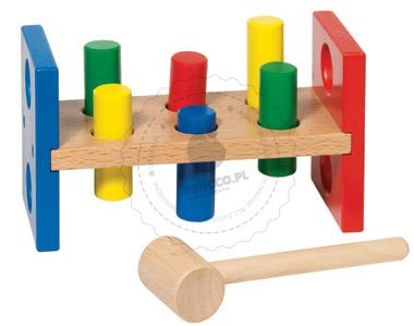Przebijanka Goki - zabawki drewniane