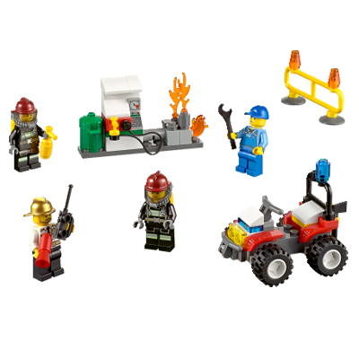 Klocki LEGO City 60088 - Strażacy - zestaw startowy