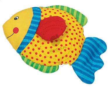 Grzechotka - uśmiechnięta rybka - zabawki dla niemowląt