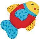 Grzechotka - czerwona rybka - zabawki dla niemowląt