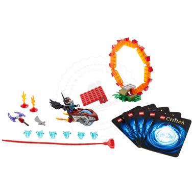 Klocki LEGO  CHIMA 70100 - Pierścień ognia
