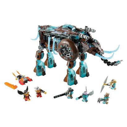 Klocki LEGO Chima 70145 - Lodowa machina Maula