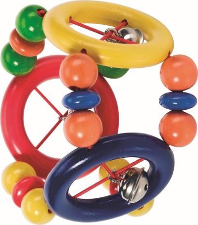 Grzechotka 3 pierścienie