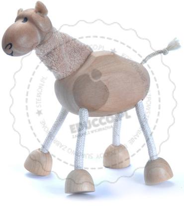 Figurka wielbłąda - zabawki drewniane Anamalz