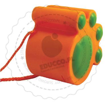 Kocie stopy (pomarańczowe) - zabawki do piaskownicy