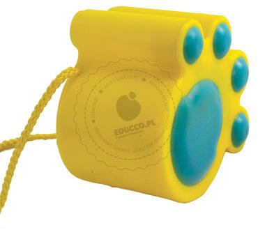 Kocie stopy (żółte) - zabawki do piaskownicy