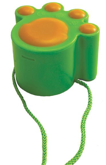 Kocie stopy (zielone) - zabawki do piaskownicy