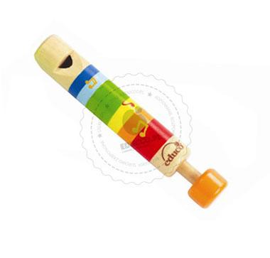 Kolorowy gwizdek - instrumenty muzyczne